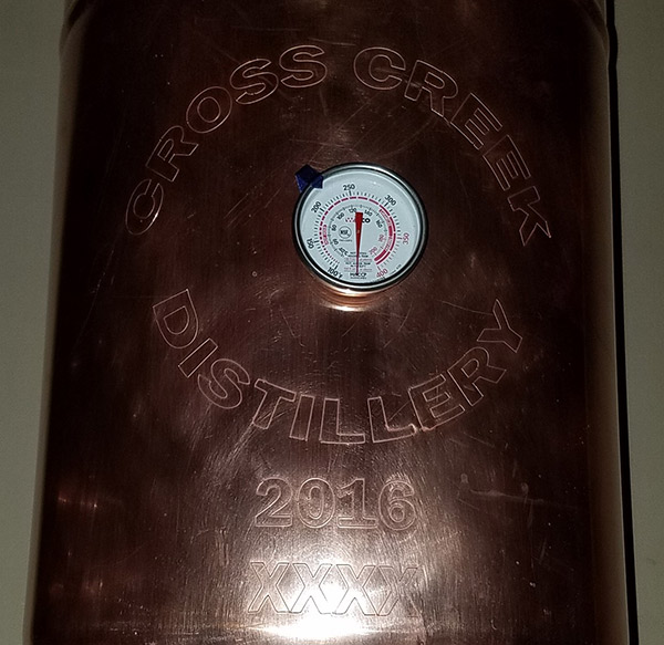 cross creek distillery established stills