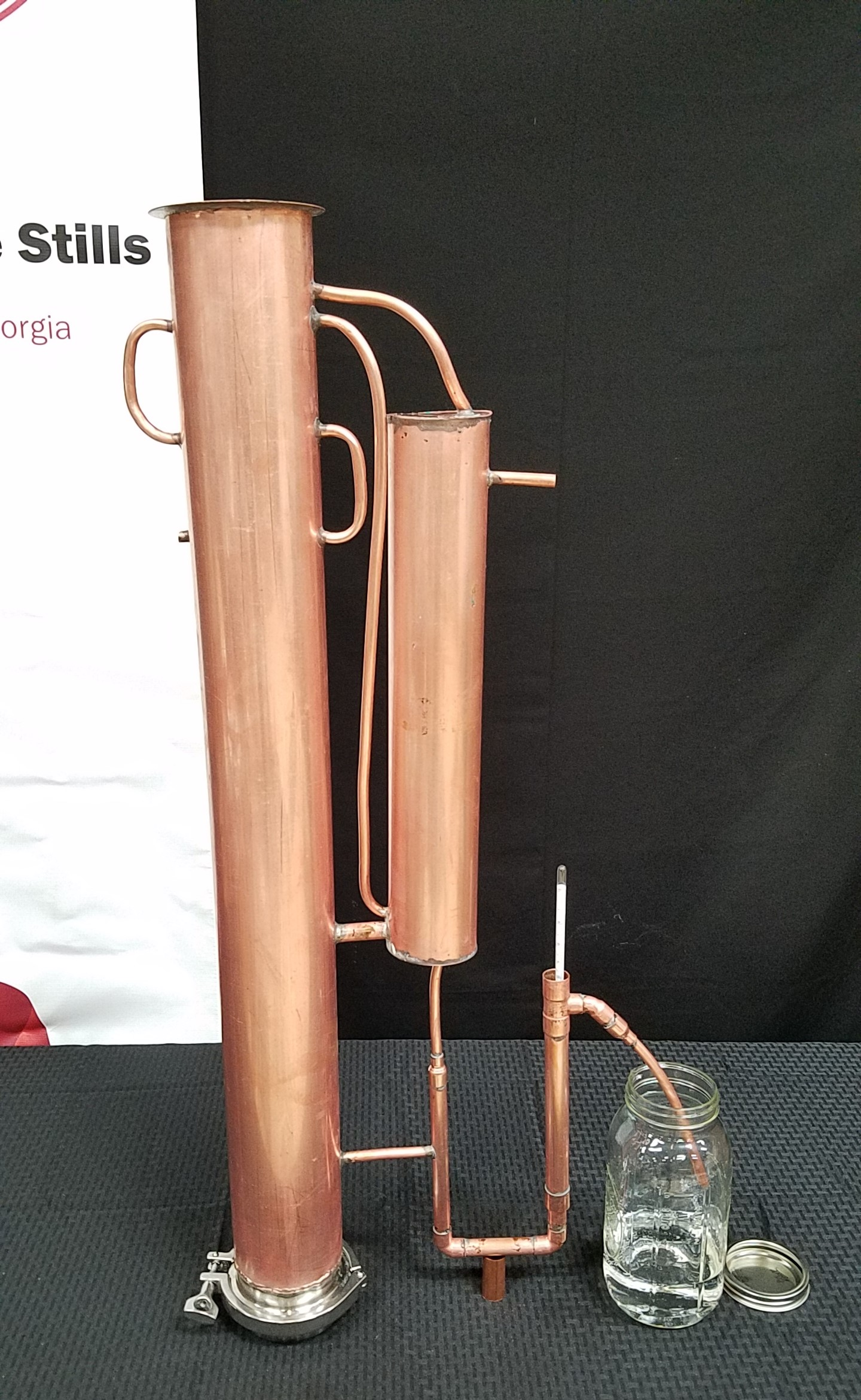 5 Reflux Column With Condenser And Built In Proofing