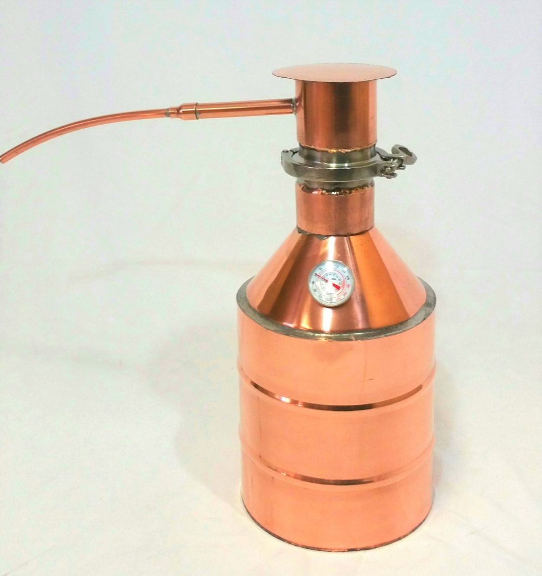 2.5 Gallon Hand Crafted Copper Still