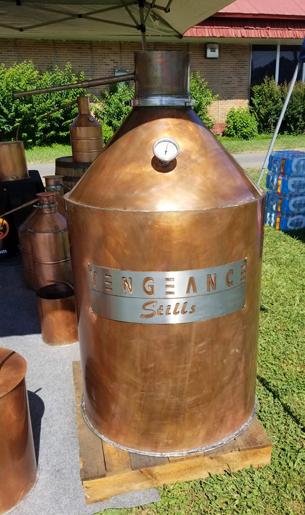 home to make moonshine at home